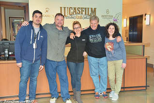 Daniel Kennedy Lucasfilm Visit 2017