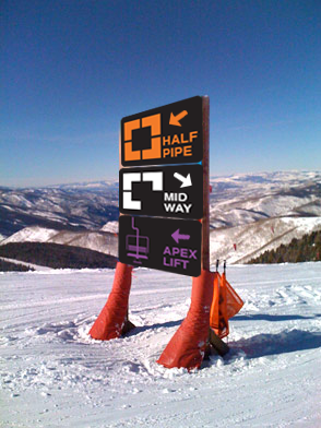 Wayfinding for Skiiers & Snowboarders