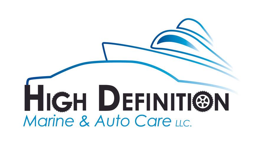 High Deginition Marine & Auto Care, LLC. Logo
