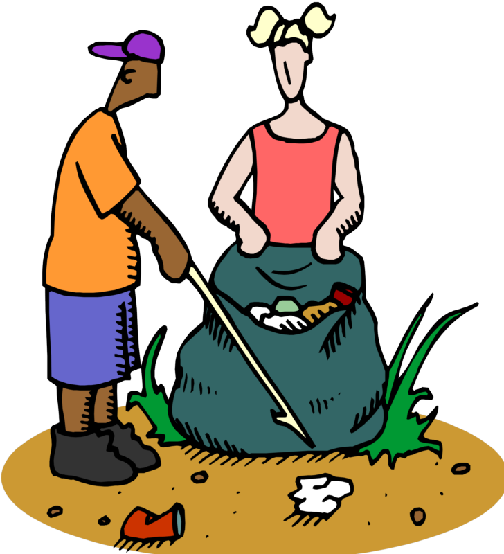 Trash Pickup and Nature Scavenger