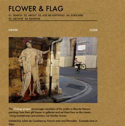 Flower & Flag