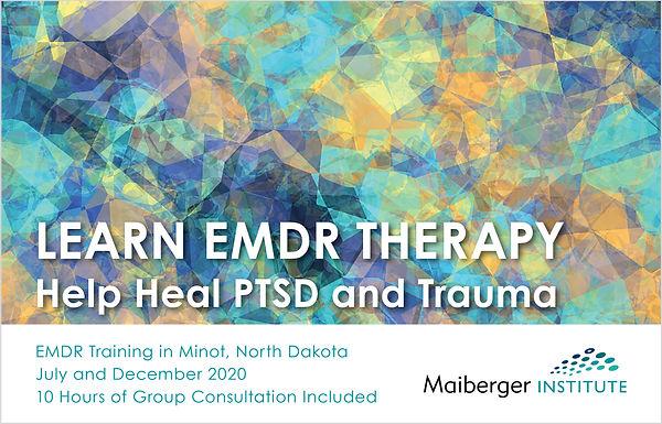 EMDR Training in Minot North Dakota July
