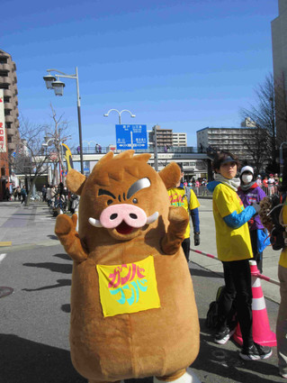 名古屋ウィメンズマラソンの日でした