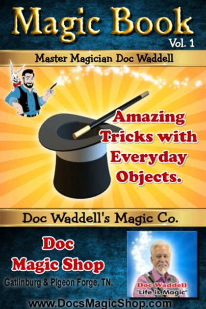 Everyday Object Magic Book WAS $9.99