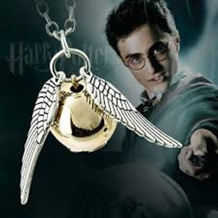 Golden Snitch Necklace WAS $14.99