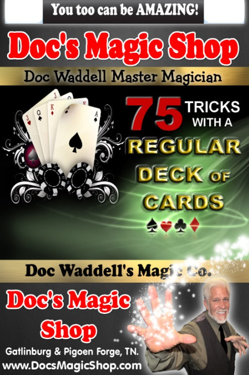 75 Tricks with a Regular Deck WAS $12.99