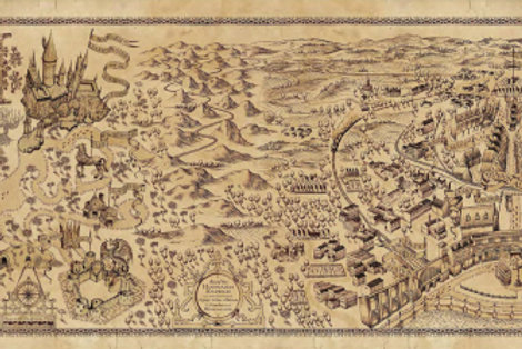 Harry Potter World Map