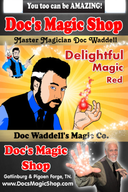 Delightful Magic RED WAS $9.99