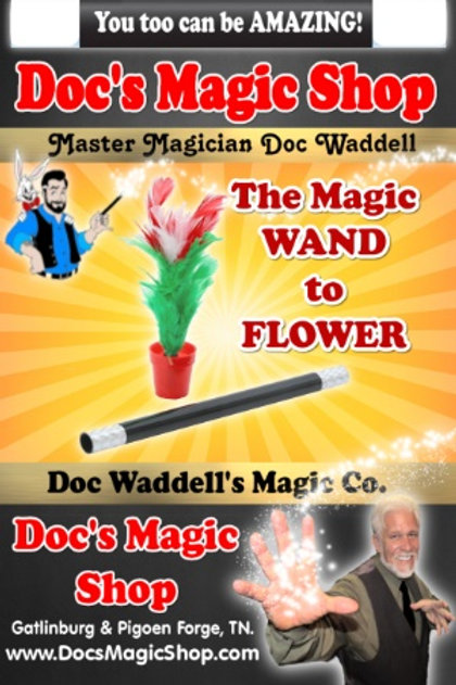 The Magic Wand to Flower