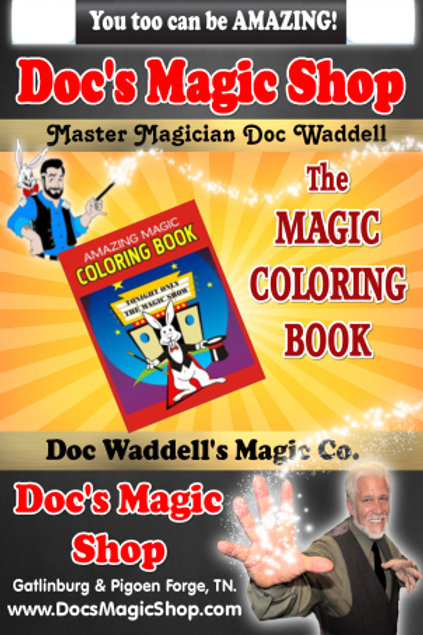 Magic Coloring Book (Small)