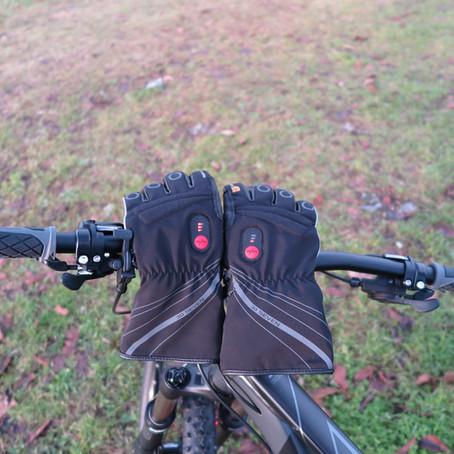 Kolesarske OGREVANE rokavice RACE 30seven® #TEST#