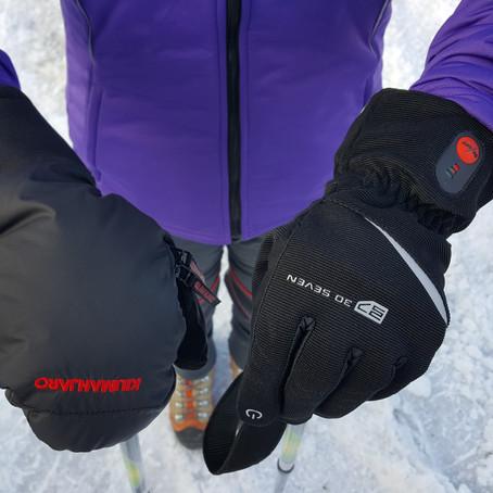 Primerjalni test: Ogrevane Outdoor ALLROUND vs. navadne rokavice Kilimanjaro