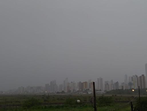 Inmet emite alerta de perigo potencial por acumulado de chuva para 24 municípios paraibanos