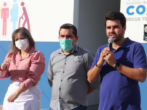 Prefeito de Coxixola recebe deputado líder do governo e apresenta demandas do município