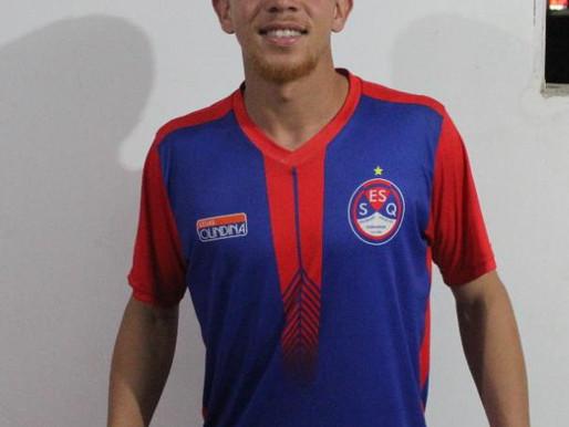 São-dominguense Foguinho, estrea amanhã na equipe A Queimadense no campeonato paraibano sub-20