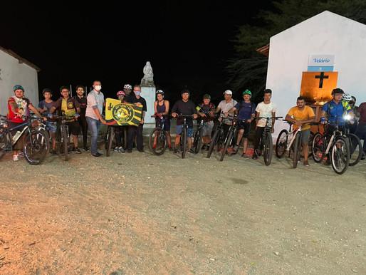 Prefeito Onildo prestigia e apoia Terceiro Pedal da Cruz da Virgem realizado pela equipe mala & cuia