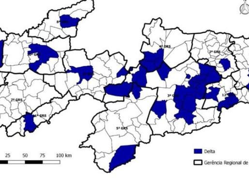 Paraíba chega a 160 casos da variante Delta e oito mortes em 39 municípios