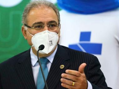 Marcelo Queiroga anuncia terceira dose da vacina contra a Covid para 15 de setembro