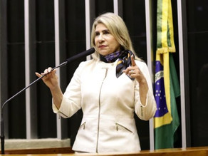Edna Henrique confirma desistência à reeleição e anuncia apoio a Hugo e filho Michel