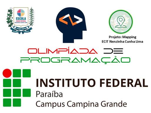 Escola de Campina Grande convidada para representar escolas públicas na Olimpíada IFPB