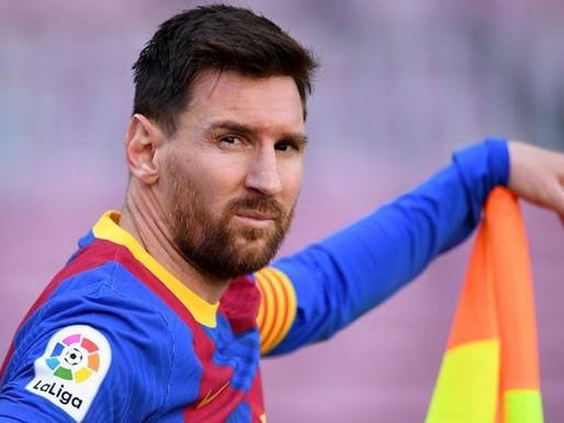 Barcelona anuncia que Messi não seguirá no clube