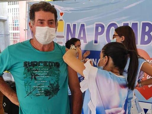 Paraíba aplicou mais de 53 mil doses no Dia D de vacinação contra Covid-19