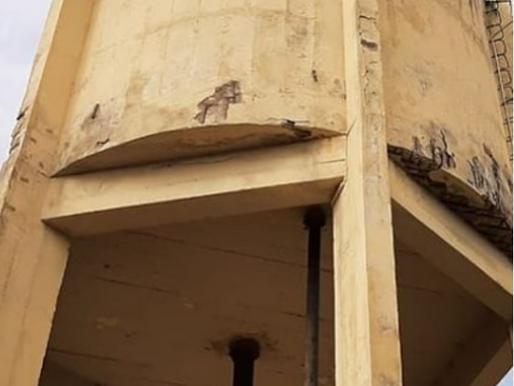 Deputado Ludgério solicita recuperação urgente da caixa de água que abastece São Domingos do Cariri
