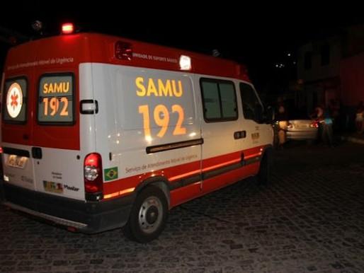 Motociclista fica ferido após sofrer queda de moto em cidade do Cariri