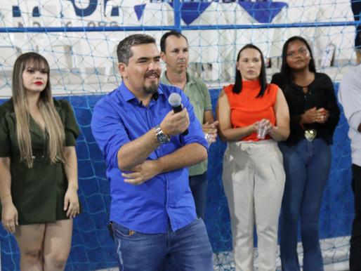 Prefeito Nelsinho entrega Três importantes obras para a população de Coxixola