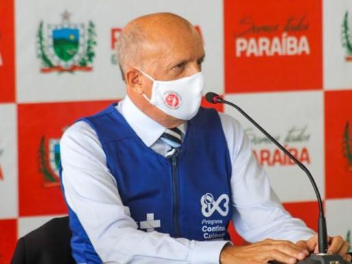 Secretário de Saúde prevê para outubro vacinação completa contra Covid-19 da população paraibana