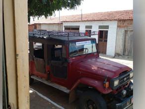 Toyota é roubada na divisa entre Paraíba e Pernambuco; motorista e passageiros são feitos reféns