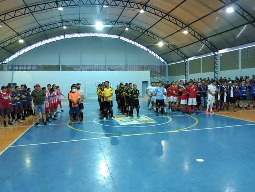 Em São Domingos do cariri campeonato  Municipal de futsal é iniciado com sucesso Confira;