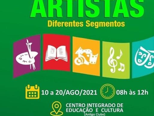 Prefeitura de Camalaú realiza cadastramento destinado aos artistas do município