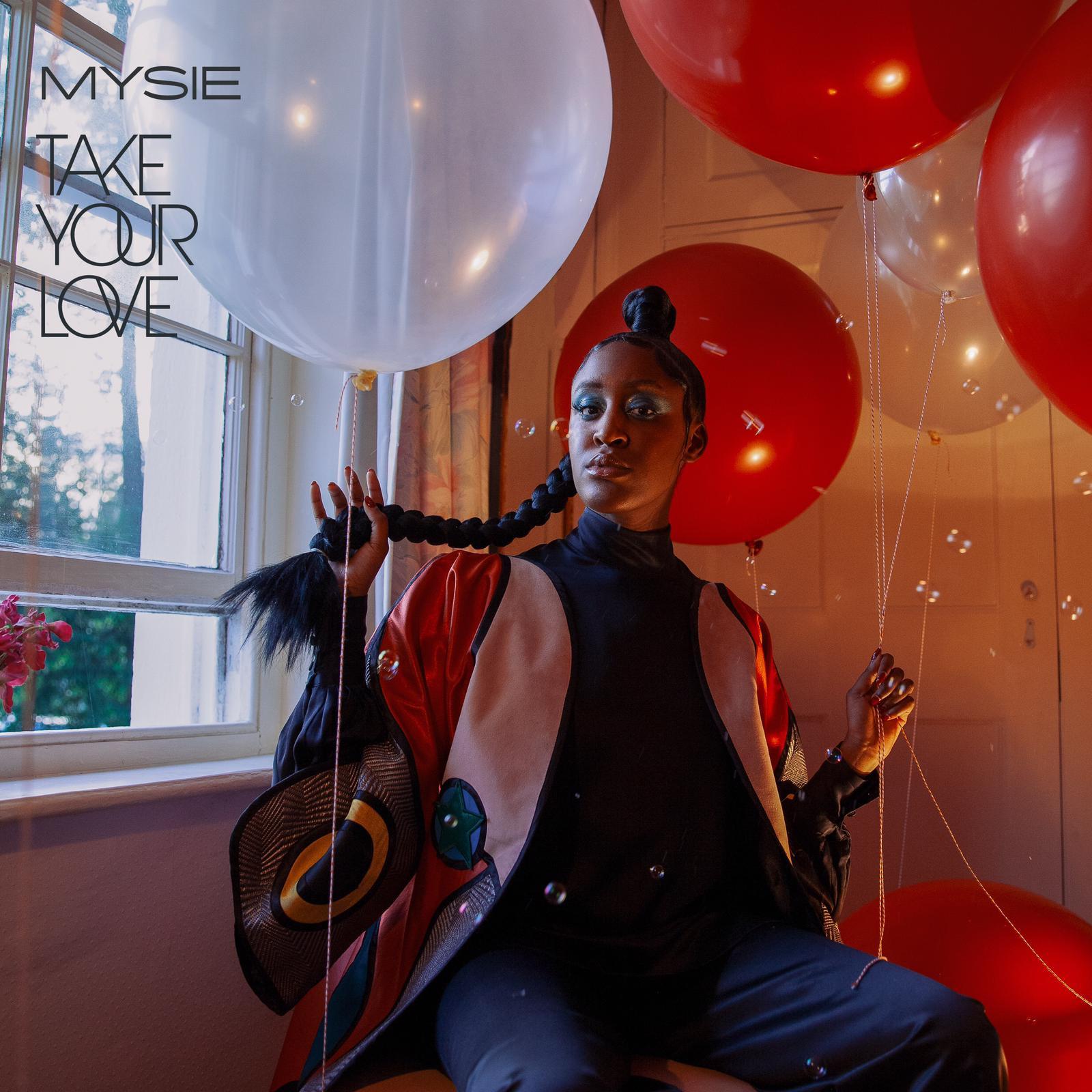 Mysie x Take Your Love Artwork