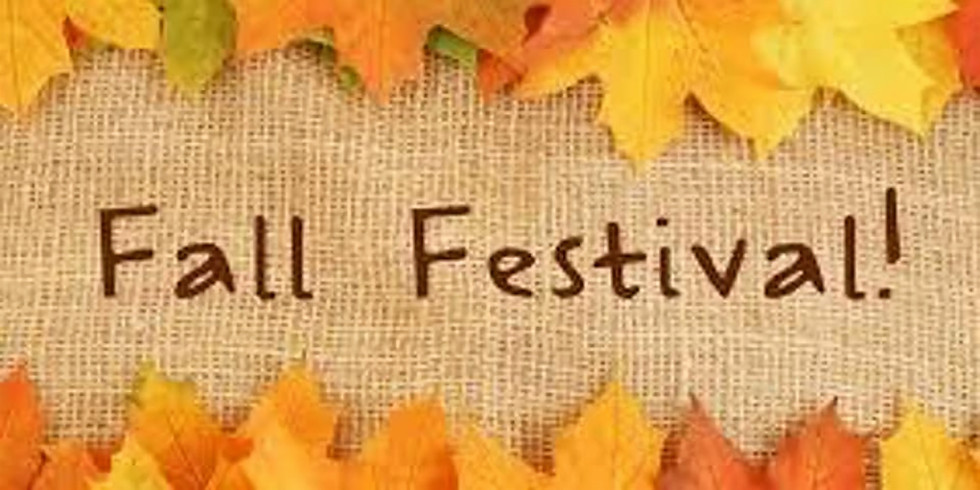 Fall Festival Please RSVP (this helps with goodie bags for kids)