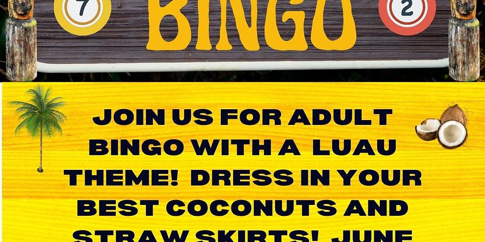 Adult luau Bingo