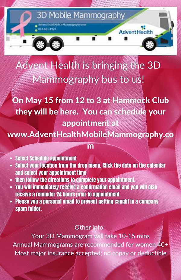 Advent Health is bringing the 3D Mammogr