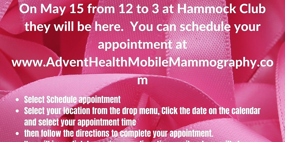Advent Health Mobile Mammography