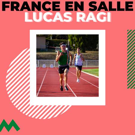 Lucas aux championnats de France en salle
