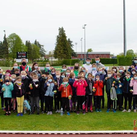Un Kids' Athlé interne pour lancer la saison des plus jeunes