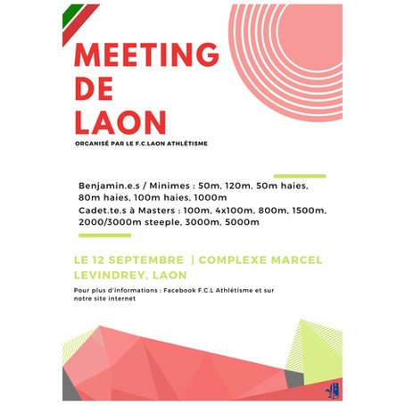 EVENEMENT - Meeting de Laon