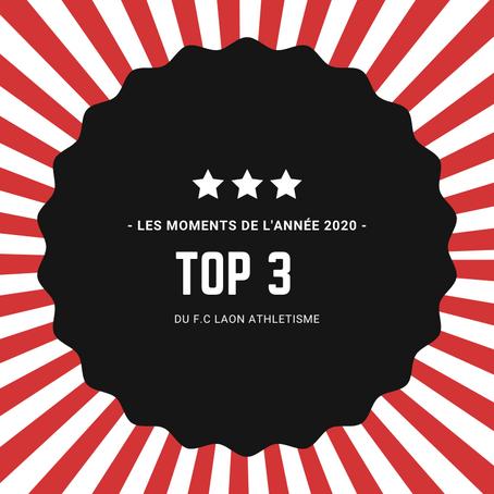 Le Top 3 du FC Laon