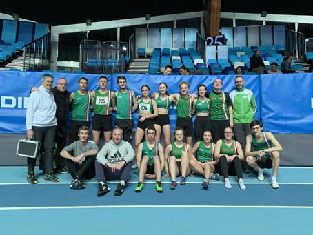 Invasion de vert aux championnats de l'Aisne en salle