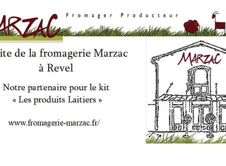Visite de la fromagerie Marzac