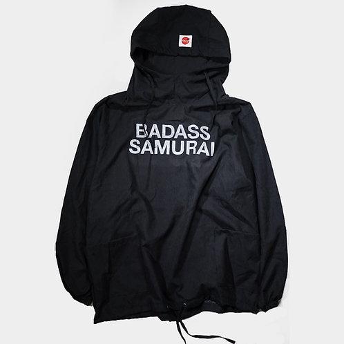 """""""BADASS SAMURAI""""Anorak hoodie"""
