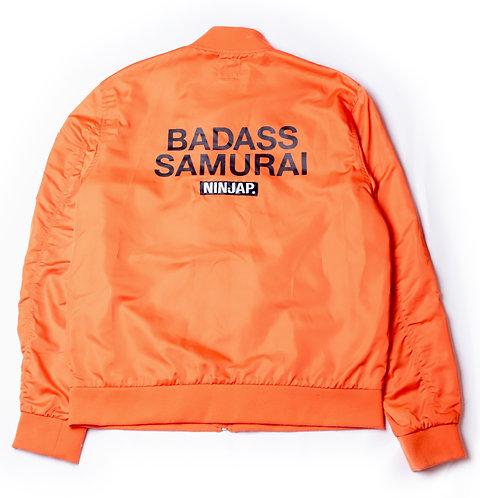 [badass samurai] MA-1  jacket