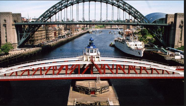 Swing Bridge, Newcastle/Gateshead Quayside