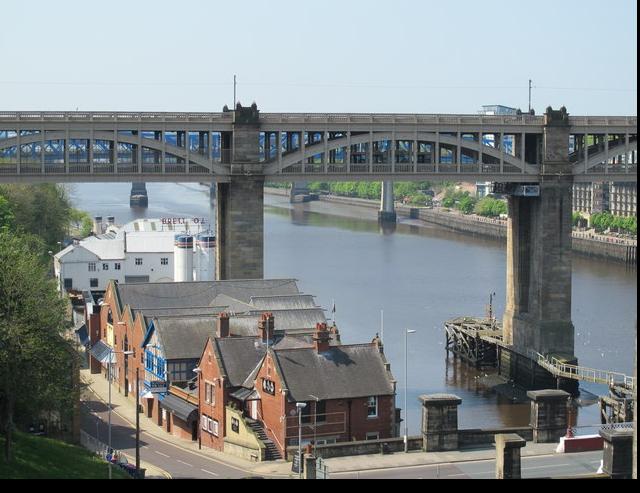 High Level Bridge, Newcastle/Gateshead Quayside