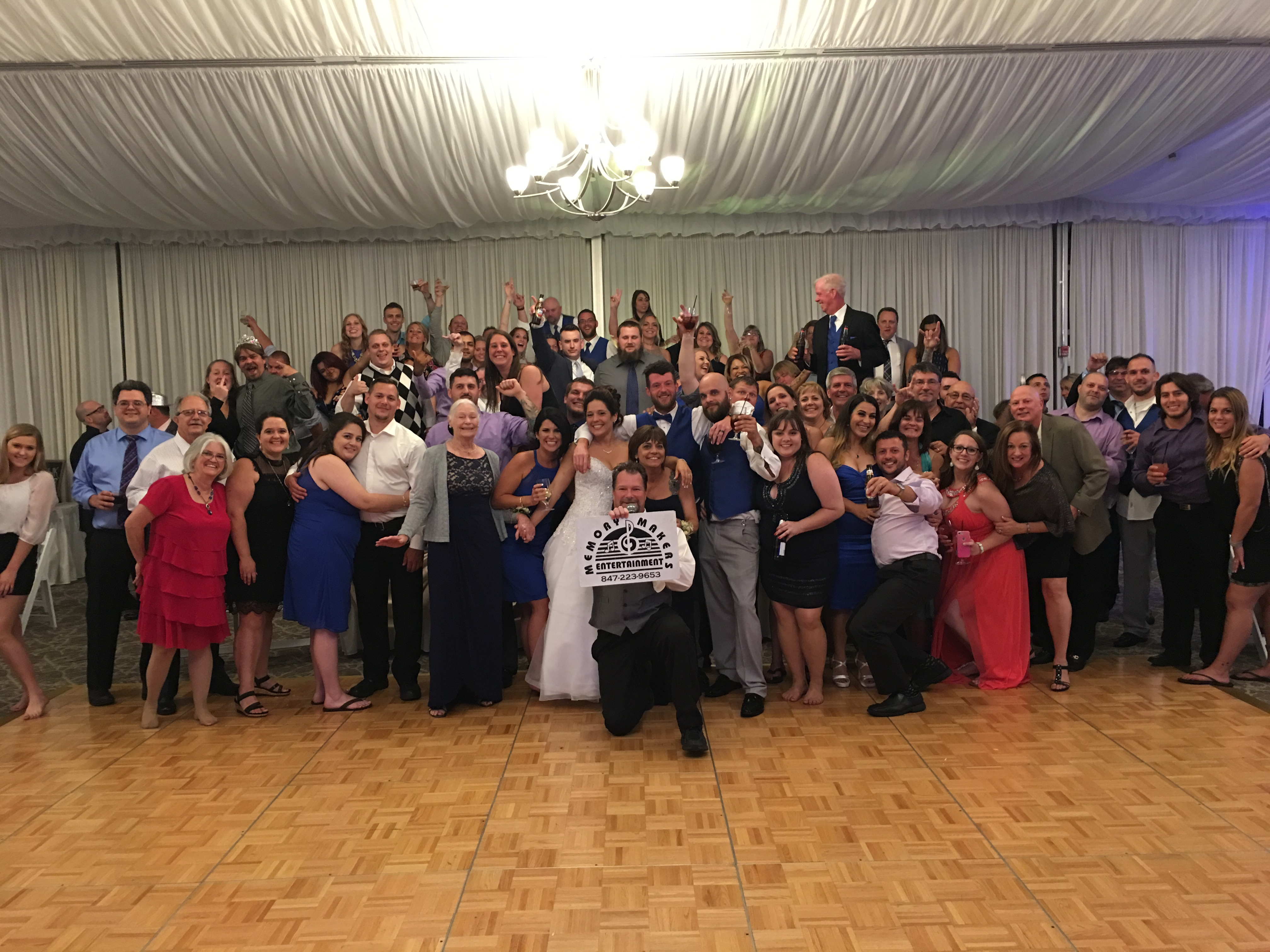DJ Dave Woll Lake County Wedding