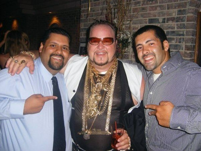 Juan and Andre with Limo Bob